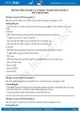 Giải bài Vật liệu cơ khí SGK Công nghệ 11