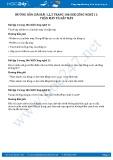 Hướng dẫn giải bài 1,2,3 trang 106 SGK Công nghệ 11