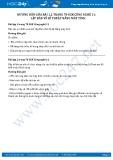 Hướng dẫn giải bài 1,2 trang 70 SGK Công nghệ 11