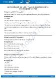 Hướng dẫn giải bài 1,2,3,4 trang 81 SGK Công nghệ 11