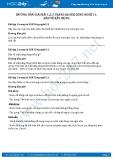 Hướng dẫn giải bài 1,2,3 trang 66 SGK Công nghệ 11