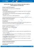 Hướng dẫn giải bài 1,2,3,4,5 trang 85 SGK Công nghệ 11