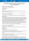 Giải bài Cơ cấu phân phối khí SGK Công nghệ 11