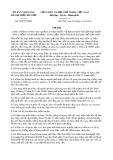 Chỉ thị số 09/2016/CT-UBND của tỉnh Cần Thơ