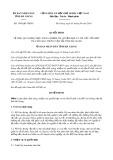 Quyết định số 1069/QĐ-UBND tỉnh Hà Giang