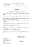 Thông báo số 2297/TB-KBNN
