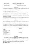 Quyết định số 14/2016/QĐ-UBND của tỉnh Quảng Nam