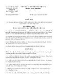 Quyết định số 830/QĐ-MTTW-BTT