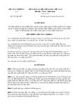 Quyết định số 2242/QĐ-BCT