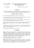 Quyết định số 2204/QĐ-BCT