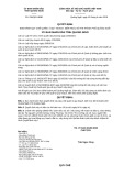 Quyết định số 258/QĐ-UBND tỉnh Quảng Ngãi