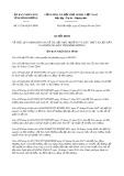 Quyết định số 11/2016/QĐ-UBND tỉnh Bình Dương