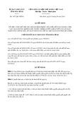 Quyết định số 1457/QĐ-UBND tỉnh Hòa Bình