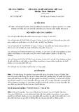 Quyết định số 2162/QĐ-BCT