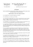 Quyết định số 1826/QĐ-UBND