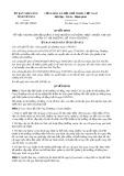 Quyết định số 1027/QĐ-UBND tỉnh Yên Bái