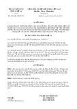 Quyết định số 2563/QĐ-UBND-NC