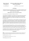 Quyết định số 1851/QĐ-UBND tỉnh Thanh Hoá