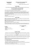 Quyết định số 727/QĐ-UBND tỉnh Điện Biên