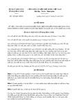 Quyết định số 1628/QĐ-UBND