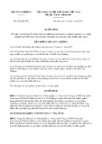 Quyết định số 2202/QĐ-BCT