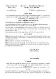 Quyết định số 934/QĐ-UBND