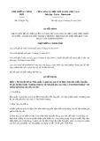 Quyết định số 933/QĐ-TTg