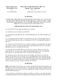 Quyết định số 972/QĐ-UBND
