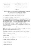 Quyết định số 1875/QĐ-UBND tỉnh Thanh Hóa