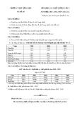 Đề khảo sát chất lượng lần 3 môn Địa lí lớp 11 năm 2017 - THPT Đồng Đầu - Mã đề 268