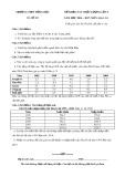 Đề khảo sát chất lượng lần 3 môn Địa lí lớp 11 năm 2017 - THPT Đồng Đầu - Mã đề 105