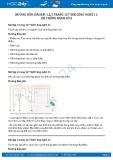 Hướng dẫn giải bài 1,2,3 trang 127 SGK Công nghệ 11