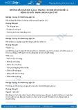 Giải bài Động cơ đốt trong dùng cho ô tô SGK Công nghệ 11