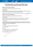 Hướng dẫn giải bài 1,2 trang 136 SGK Công nghệ 11