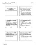 Bài giảng Kinh tế quốc tế: Chương 1 - Hồ Văn Dũng