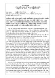 """Bài dự thi """"Tìm hiểu lịch sử quan hệ đặc biệt Việt Nam - Lào, Lào - Việt Nam - Trần Văn Vàng"""