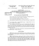 Quyết định số 51/2017/QĐ-UBND tỉnh Bến Tre