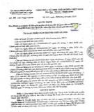 Quyết định số 04/2017/QĐ-UBND tỉnh Cà Mau