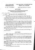 Quyết định số 05/2017/QĐ-UBND Thành phố Hà Nội
