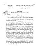Nghị quyết số 101/2017/NQ-CP