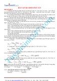 Bài tập Hóa học - Qui đổi oxit sắt