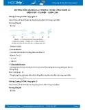 Hướng dẫn giải bài 1,2,3 trang 14 SGK Công nghệ 12