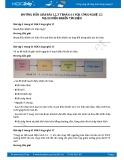 Hướng dẫn giải bài 1,2,3 trang 61 SGK Công nghệ 12