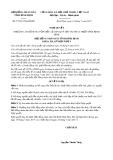 Nghị quyết số 57/2017/NQ-HĐND Tỉnh Bình Định