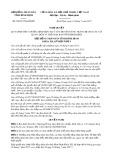 Nghị quyết số 58/2017/NQ-HĐND Tỉnh Bình Định