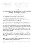 Nghị quyết số 05/2017/NQ-HĐND Tỉnh Thái Bình