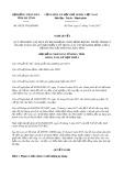 Nghị quyết số 58/2017/NQ-HĐND Tỉnh Hà Tĩnh