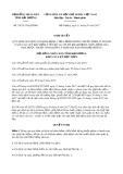 Nghị quyết số 39/2017/NQ-HĐND Tỉnh Hải Dương
