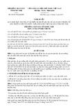 Nghị quyết số 05/2017/NQ-HĐND Tỉnh Phú Thọ