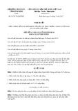 Nghị quyết số 55/2017/NQ-HĐND Tỉnh Bình Định